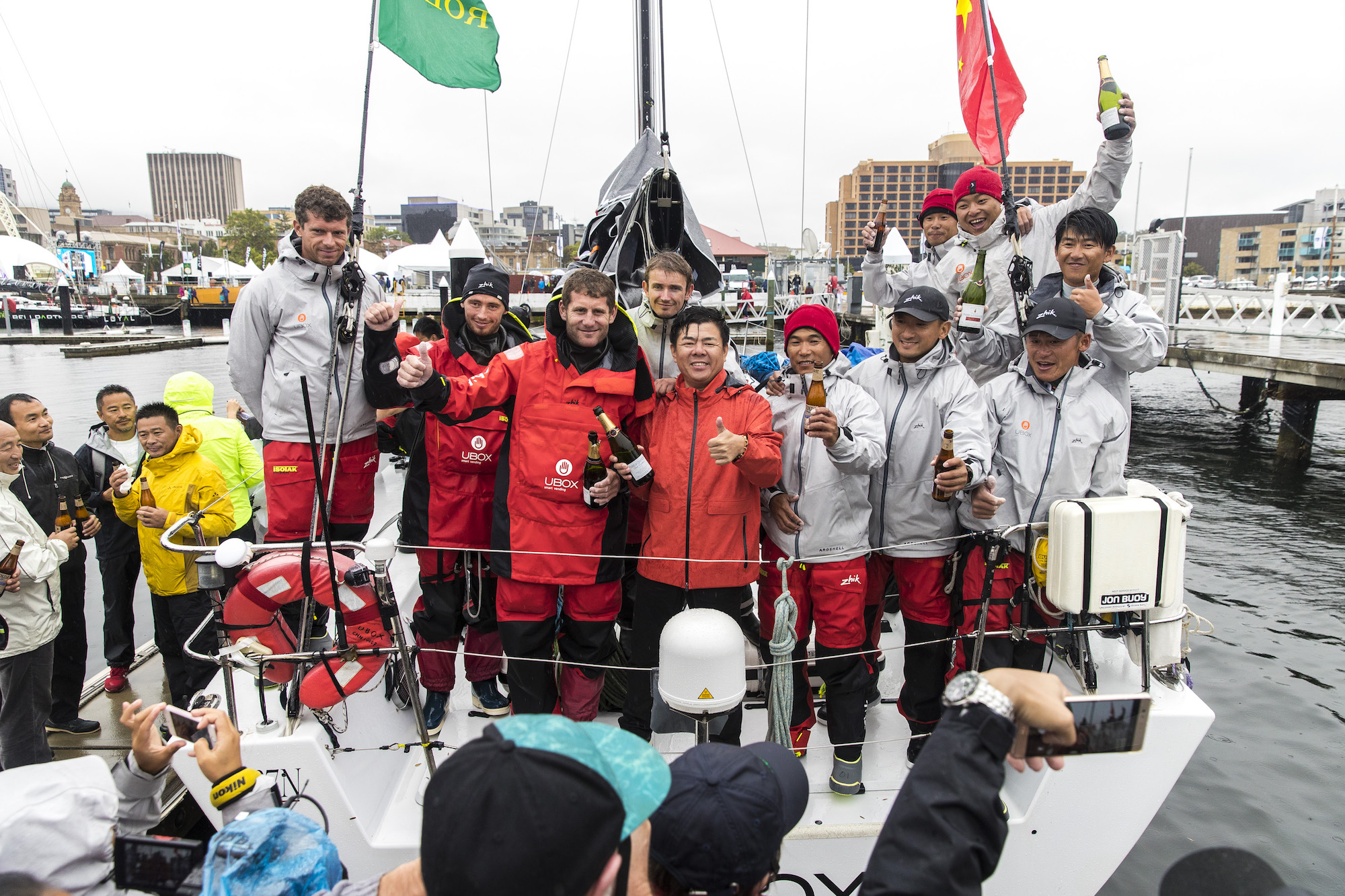 Blessed by the weather, UBOX storms to Hobart to claim third place overall on handicap