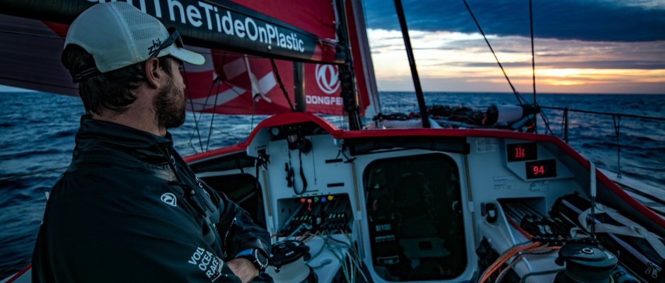Leg 2, Day 17: Dongfeng Race Team claw back the miles lost in the stampede to Cape Town