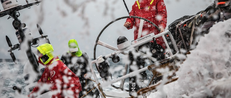 The latest from Charles: Our speed is the work of the whole Dongfeng crew