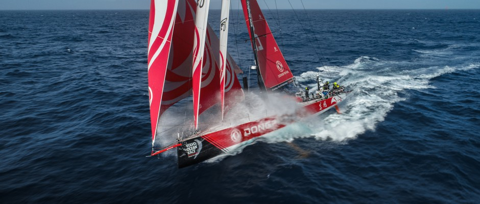 Leg 3, Day 9: Dongfeng (still) locked in mortal combat with MAPFRE