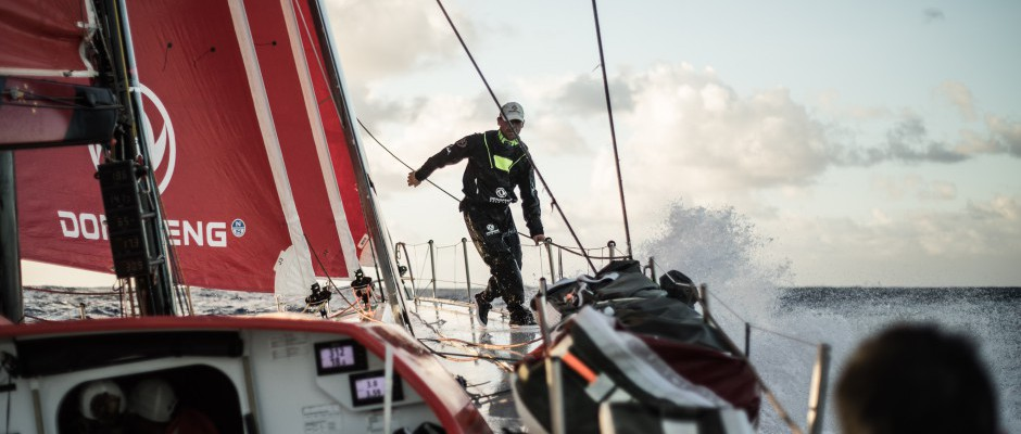 Leg 4, Day 16: Dongfeng is first to hit the Stealth Mode button