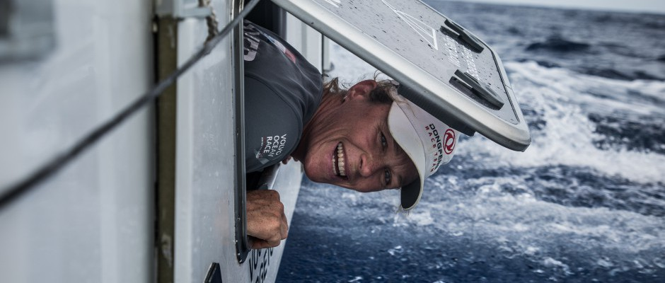 Leg 6 Day 13: Life is good on Dongfeng as she fights – yet again - with MAPFRE