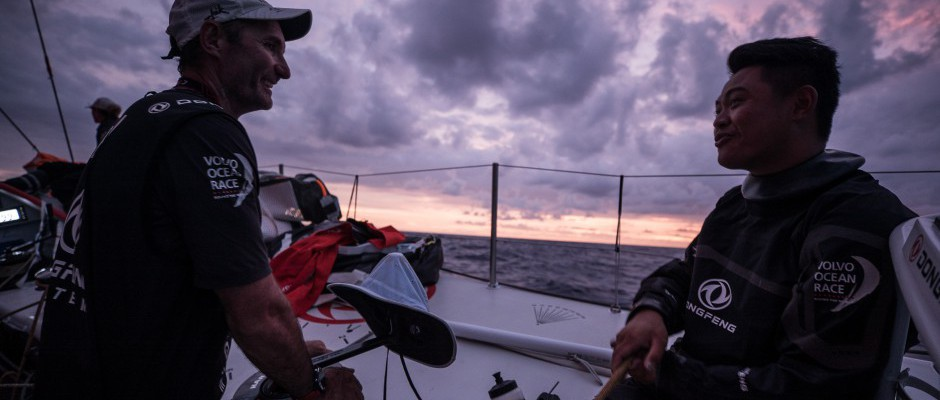Leg 6 Day 12: It's a happy ship on Dongfeng despite the frustrations of the Doldrums