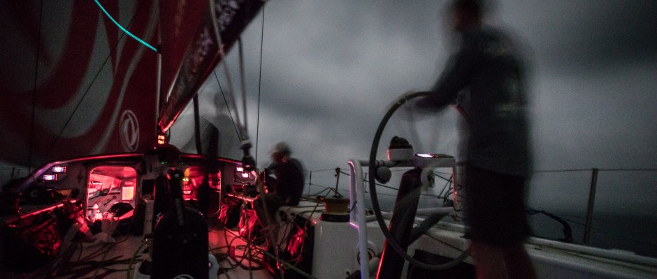 Leg 6, Day 18: Swings and roundabouts at the front of the fleet