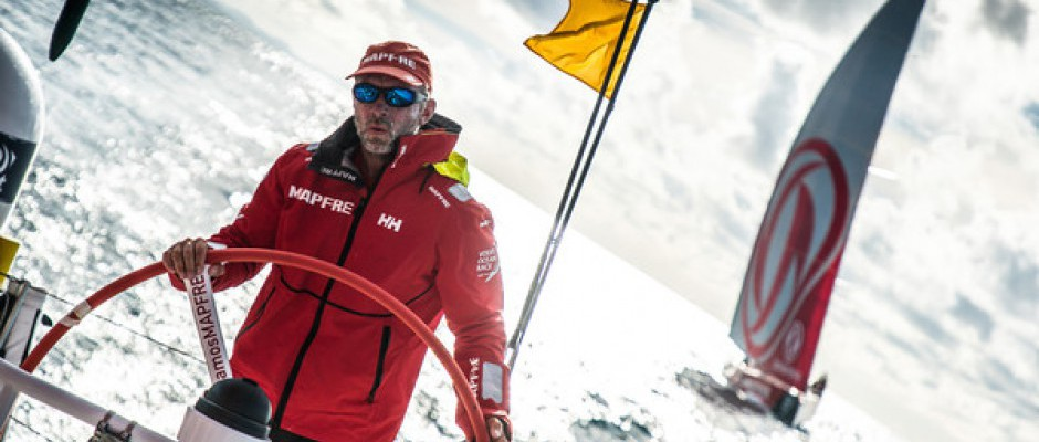 Leg 6, Day 21: Thrilling finish ahead with five boats within 10 nautical miles of each other