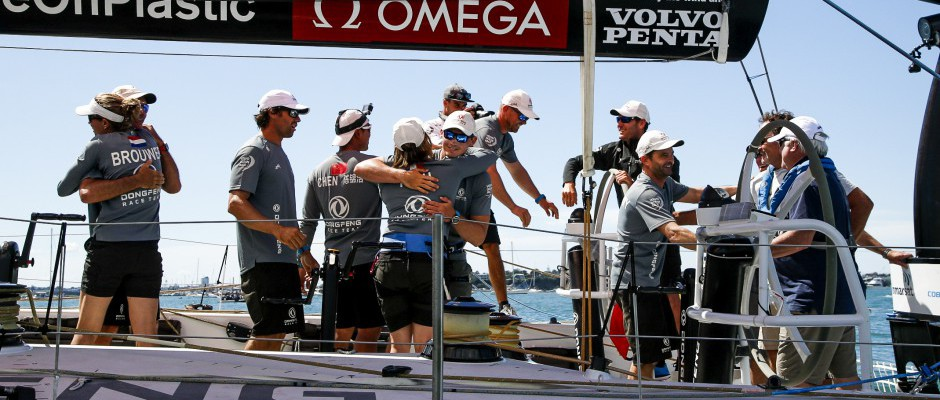 Victory for Charles Caudrelier and his crew in the New Zealand Herald In-Port Race.