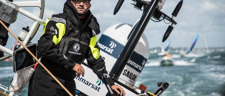 Leg 7, Day 1: Dongfeng Race Team leads the way on the first night