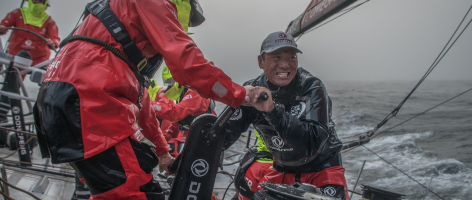 Leg 9, Day 1: Dongfeng leads the charge eastwards through the fog