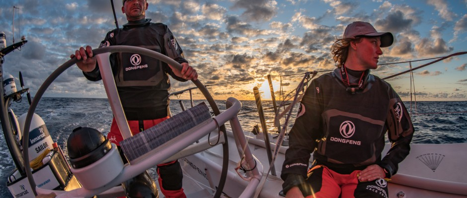 Leg 9, Day 2: It's all change as Dongfeng and the northern boats lose ground