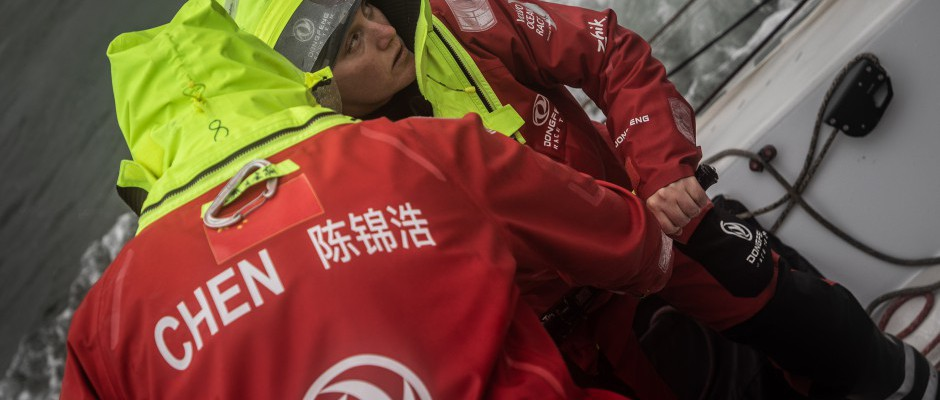 Leg 11, Day 3: The final game of roulette as Dongfeng takes the inshore route to The Hague
