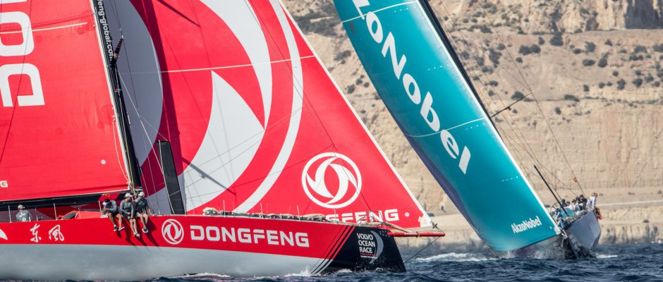 Dongfeng Race Team finishes a strong second in Alicante In-Port Race
