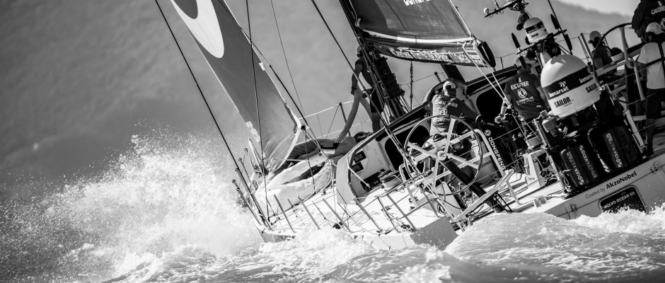 Dongfeng Race Team climbs through the fleet to take third place in the Itajai In-Port Race
